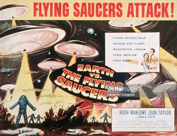 Poster of 'Flying Saucers Attack Earth vs the Flying Saucers'