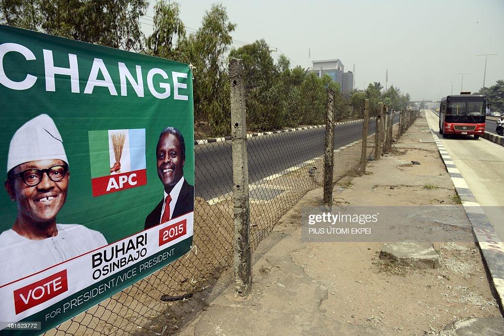 NIGERIA-VOTE-CAMPAIGN : News Photo