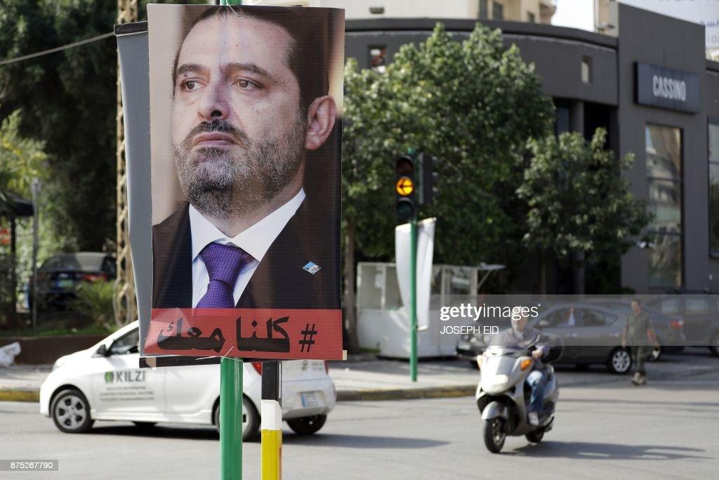 LEBANON-POLITICS-HARIRI : News Photo