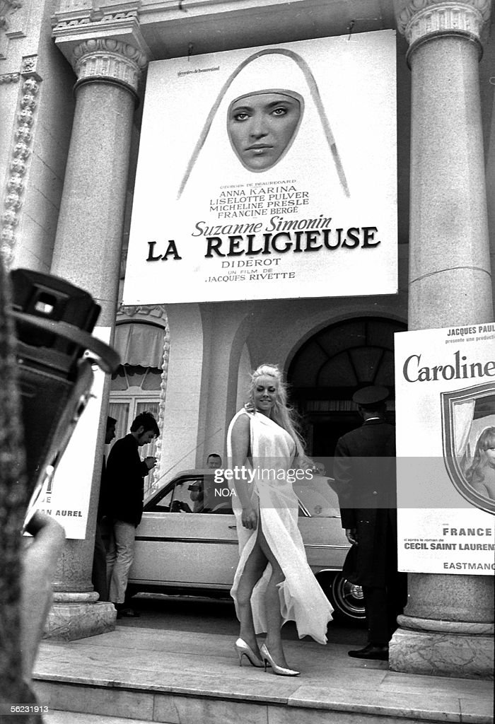 Poster of the film La Religieuse of Jacques Rive : News Photo
