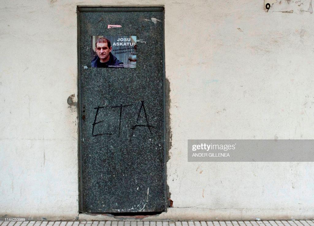 TOPSHOT-SPAIN-ETA-ARREST-DEMO : News Photo