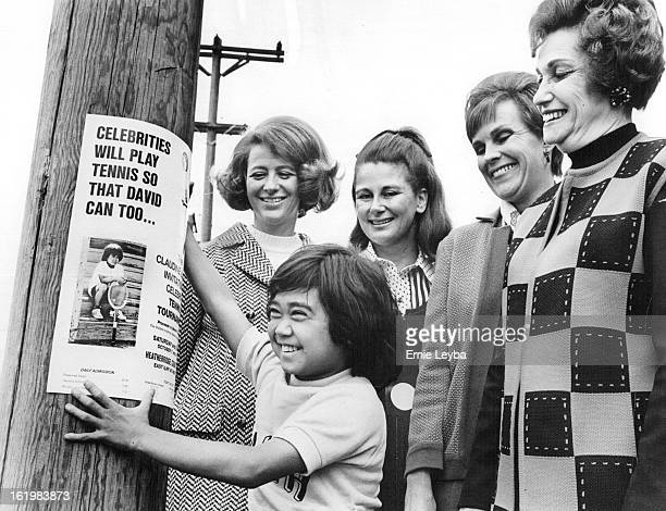 SEP 21 1972 SEP 27 1972 Poster Posting Draws Concerned Audience Davis Hew Len 11 Kaneoae Hawaii a patient at Children's Asthma Research Institute and...