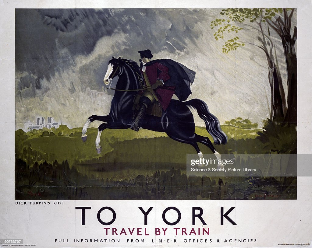 To York, LNER poster, 1934. : News Photo