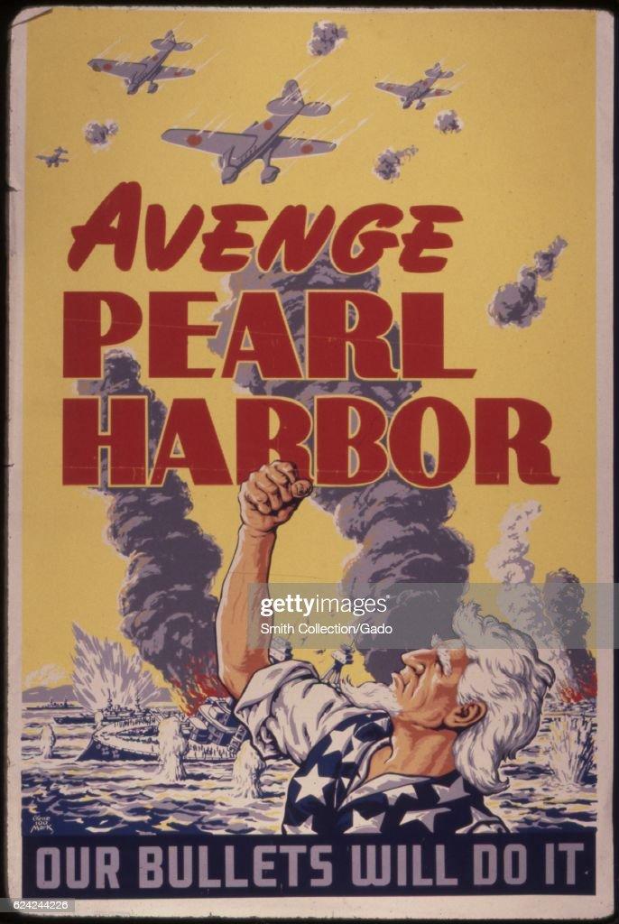 Avenge Pearl Harbor : News Photo