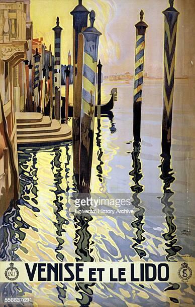 Venise et le Lido by Vittorio Grassi Italian artist