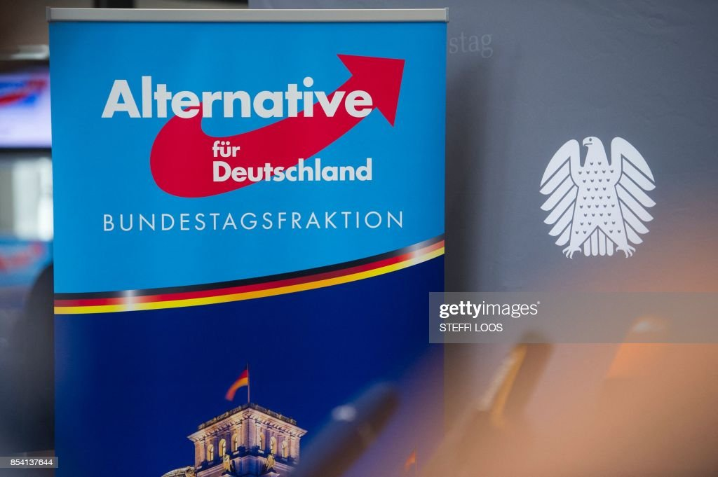GERMANY-VOTE-AFD-PARLIAMENT : News Photo