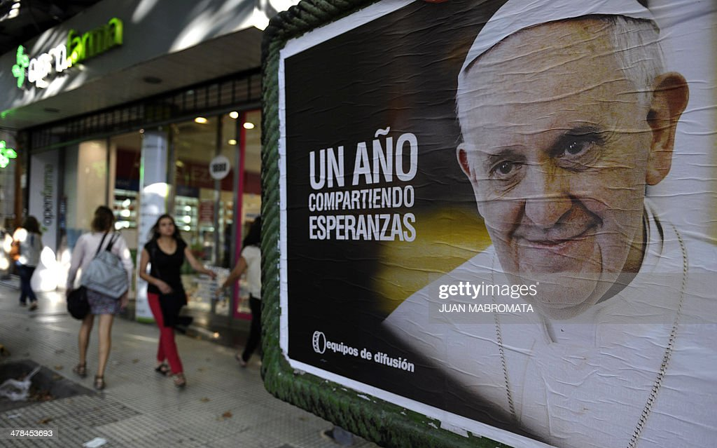 ARGENTINA-POPE-ANNIVERSARY : News Photo