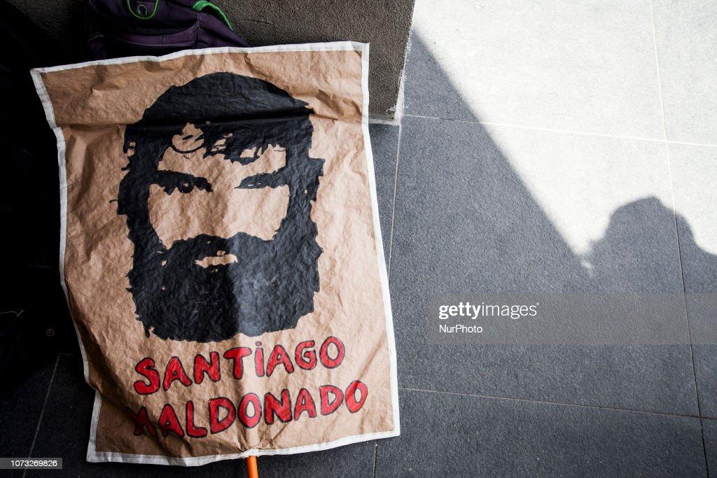 Lonco Mapuche Trial : News Photo