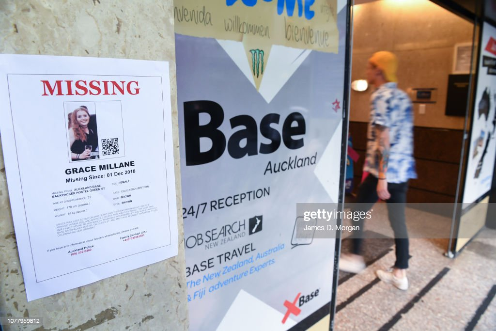 Search Continues For Missing British Backpacker Grace Millane : News Photo