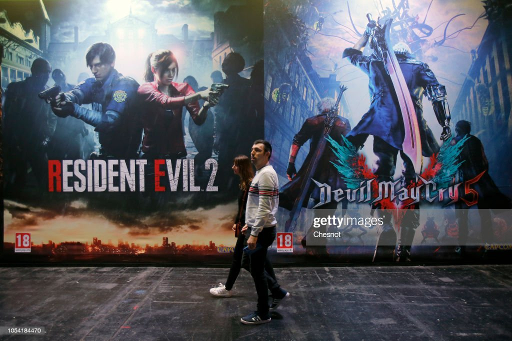 Posters From Video Games Resident Evil 2 Remake Developed And News Photo Getty Images