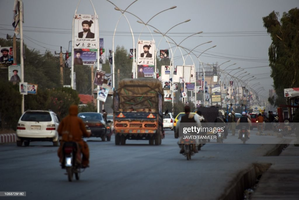 AFGHANISTAN-UNREST-ELECTION-VOTE : News Photo
