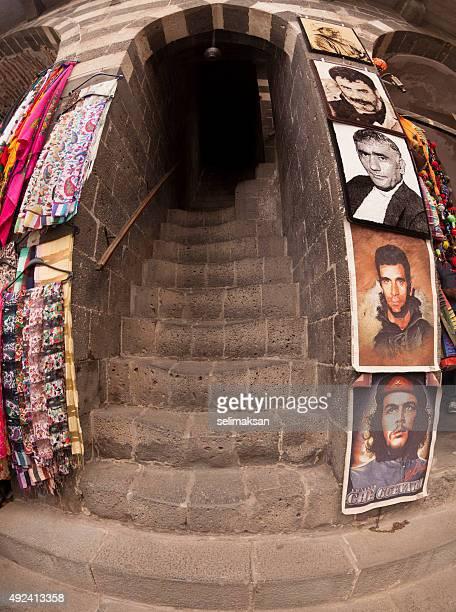 Posters Of Leftist Activists In Old Bazar, Diyarbakir, Turkey