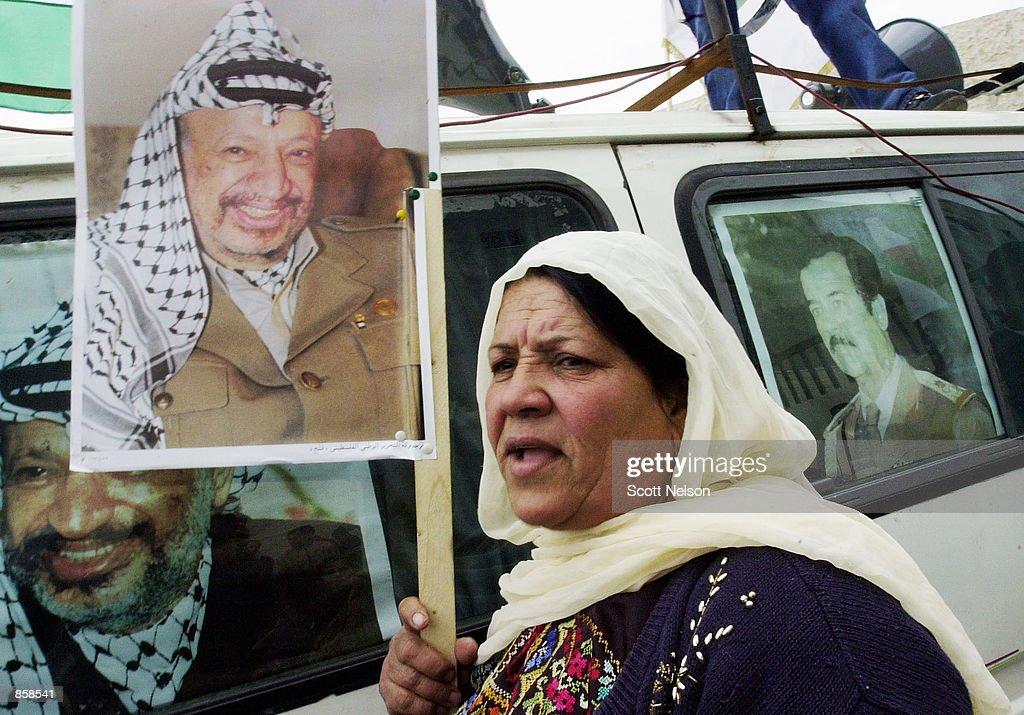 Pro-Iraqi/Arafat Demonstration : Nieuwsfoto's