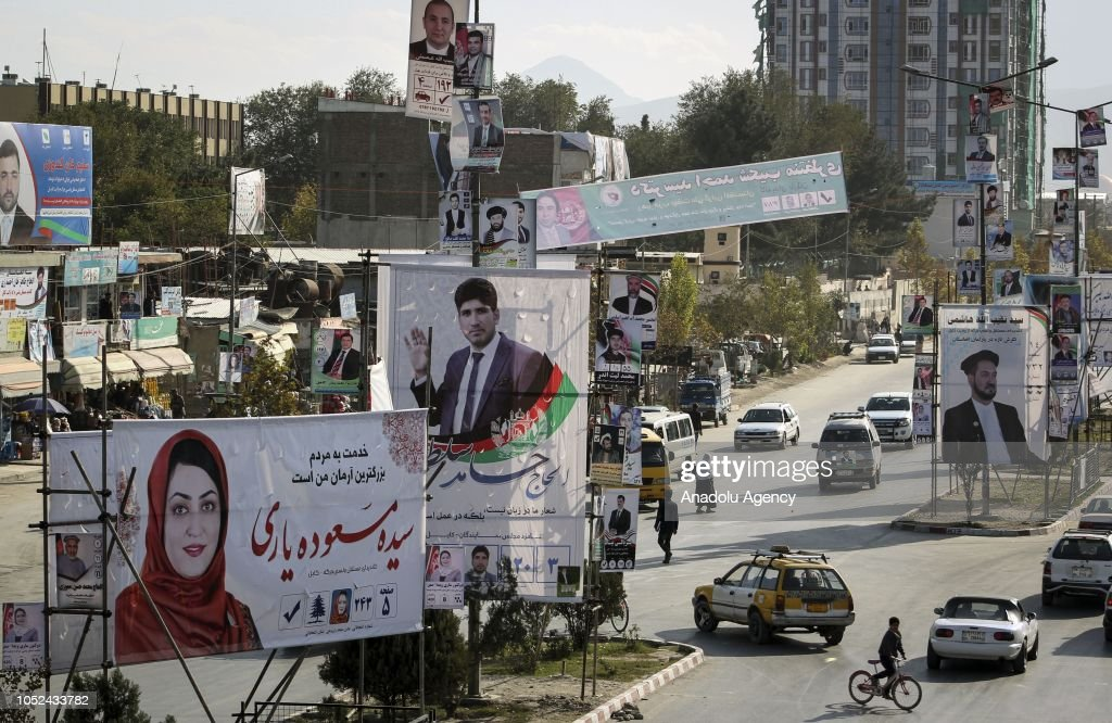 Ahead of parliamentary elections in Afghanistan : News Photo