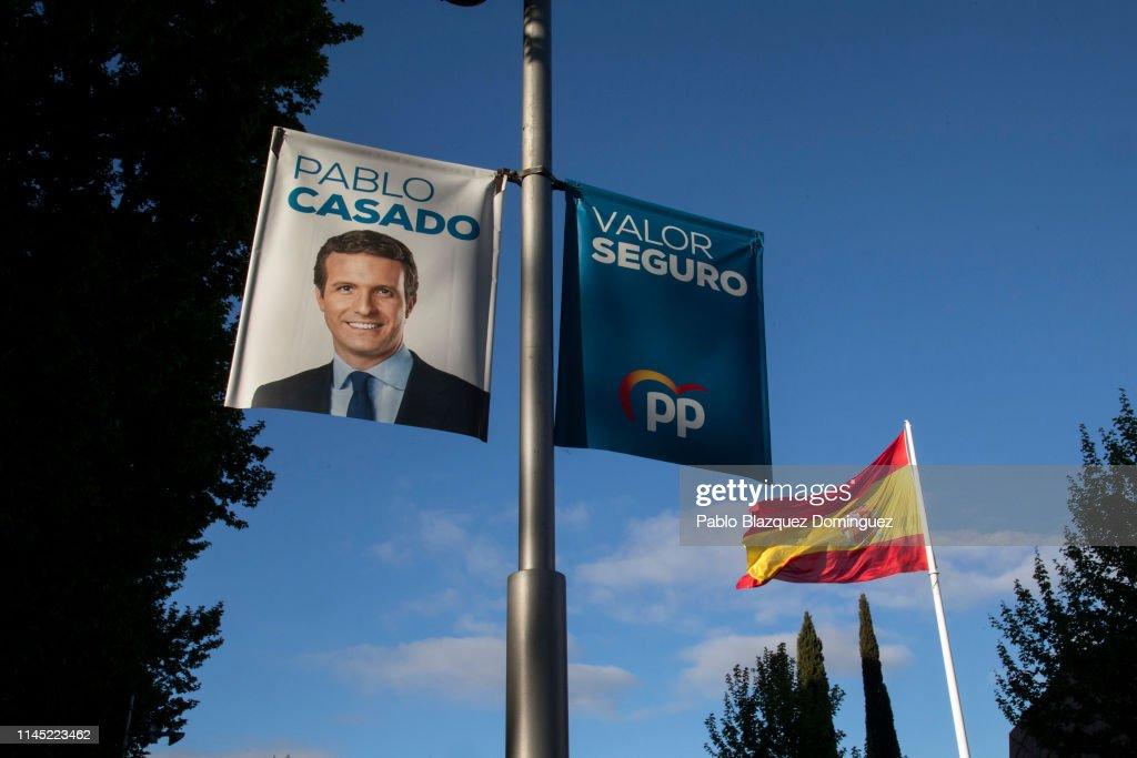 ESP: Spain Prepares For Sunday's General Election