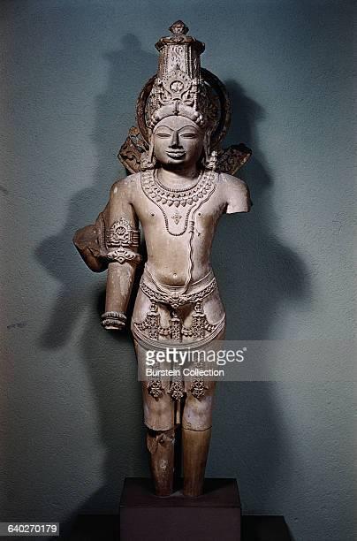 PostGupta Sculpture of Vishnu from Ellora