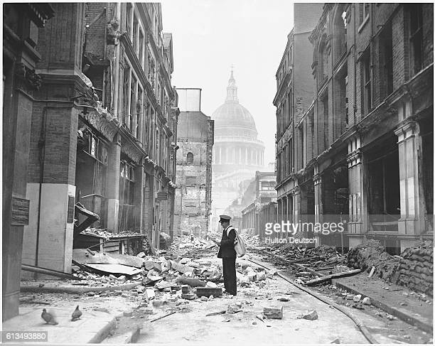 London Streets After The Blitz