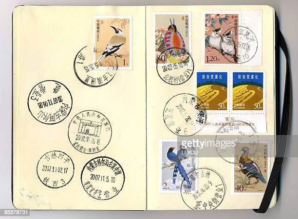postmarks - postage stamp stock pictures, royalty-free photos & images