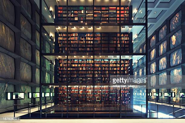 postmodern library - archive stock pictures, royalty-free photos & images
