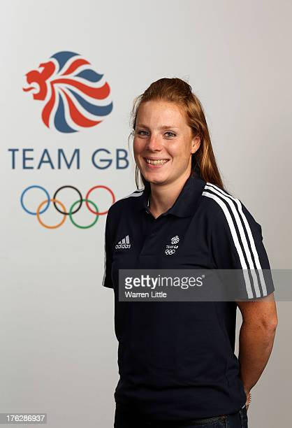 Posy Musgrave of the British Winter Olympic Cross Country Skiing Team poses for a portrait during the Team GB Winter Olympic Media Summit at Bath...