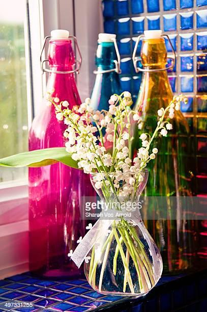 posy of flowers - bouquet de muguet fotografías e imágenes de stock