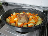 pot roast with beef potatoes carrots