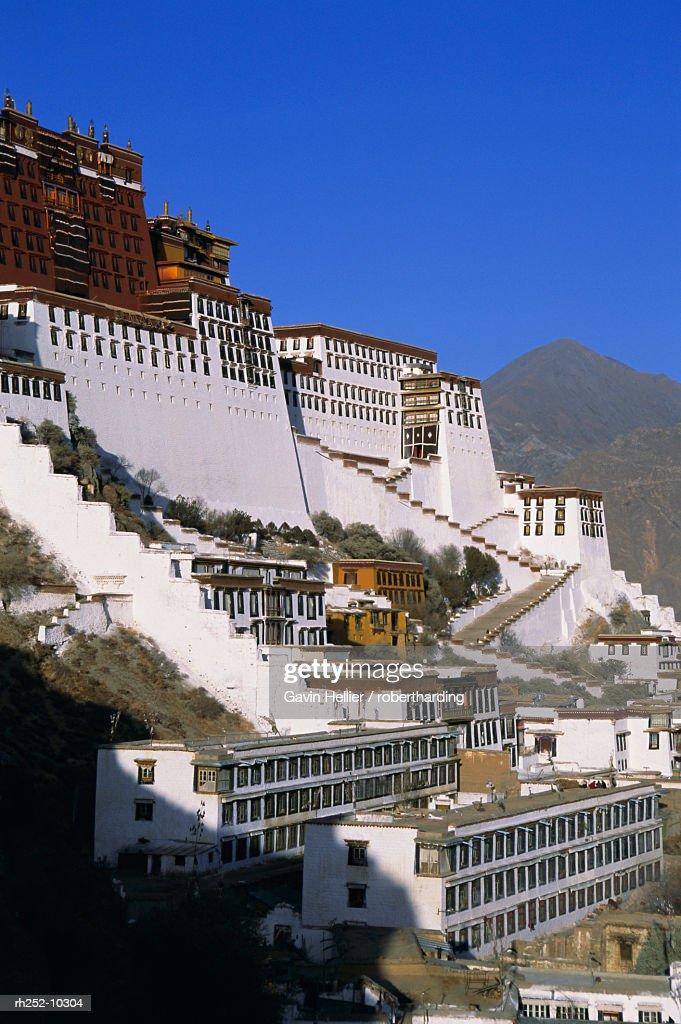 Potala Palace, UNESCO World Heritage Site, Lhasa, Tibet, China, Asia : Foto de stock