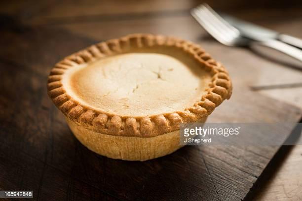 Potato and meat pie