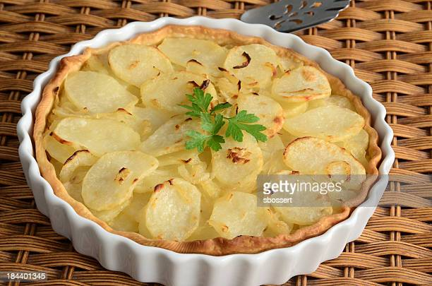 Potato and Onion Tart