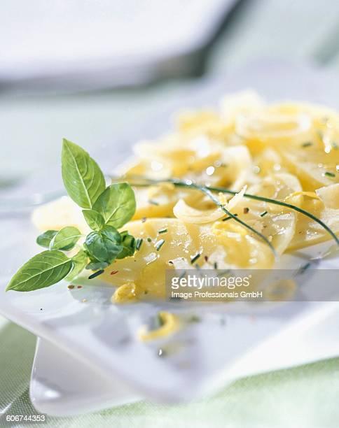 Potato and parmesan salad