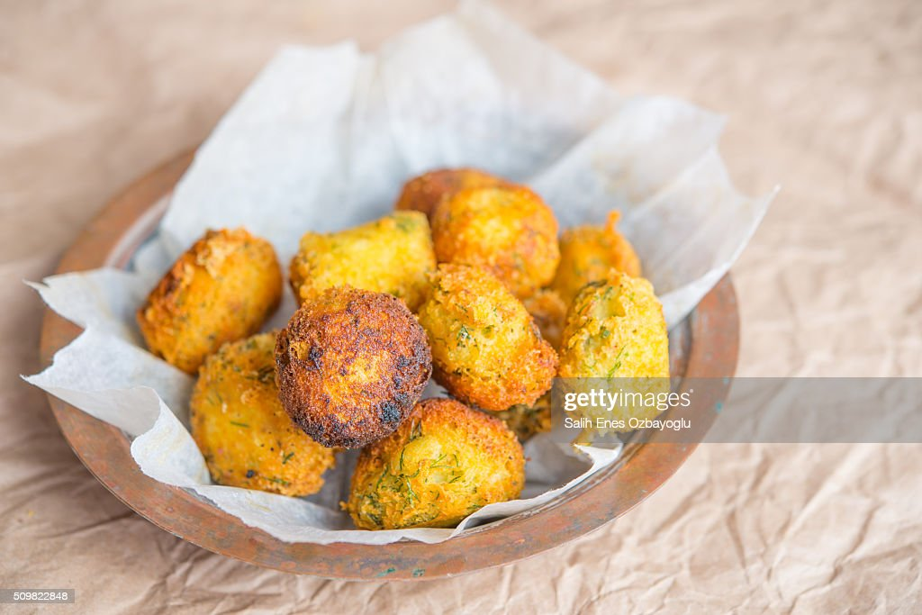 Potato balls : Stock Photo