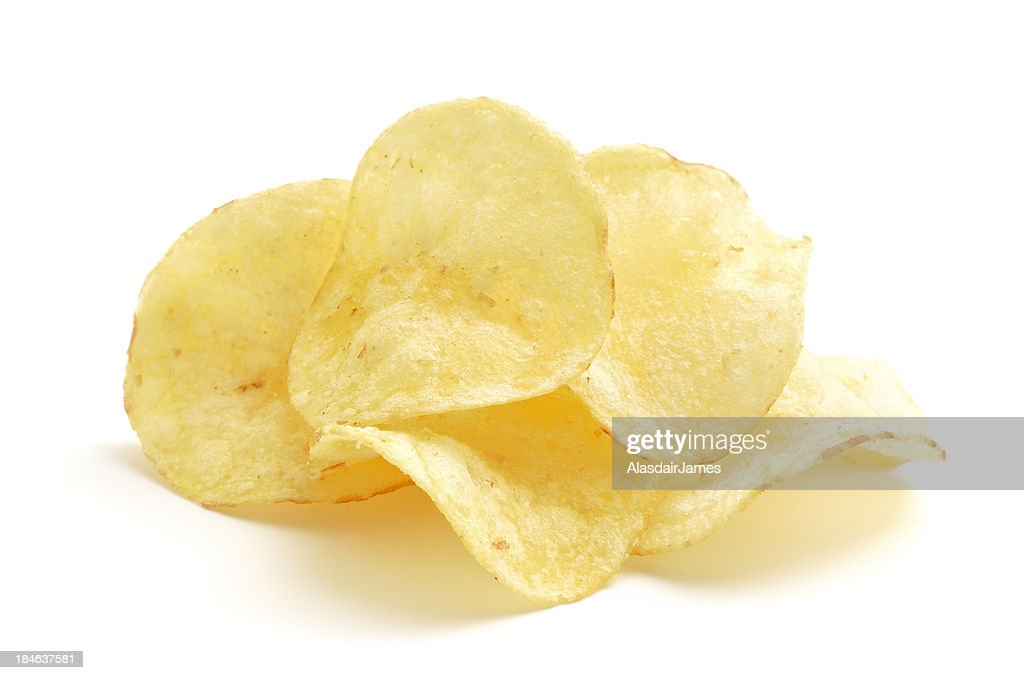 Potato Crisps : Stock Photo