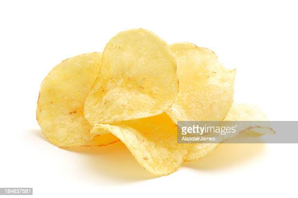 potato crisps - small group of objects stock pictures, royalty-free photos & images