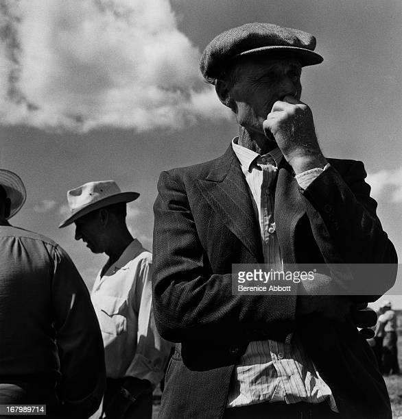 Potato farmers in the US 1954