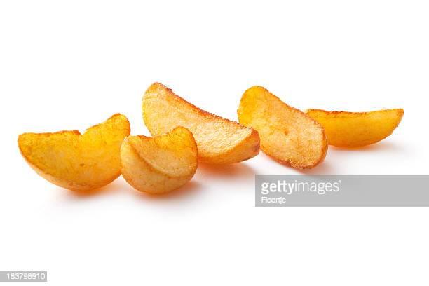 Pomme de terre: Frit des chaussures à semelles compensées