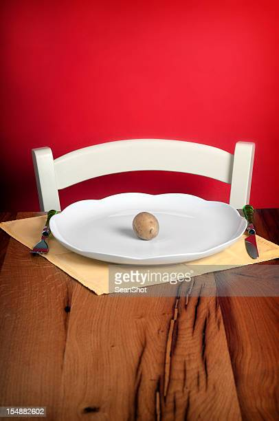 Potato in dish