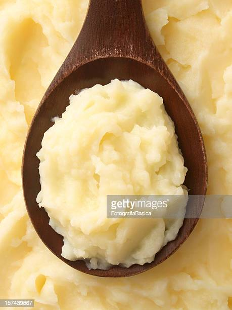 potato puree - pureed stock pictures, royalty-free photos & images
