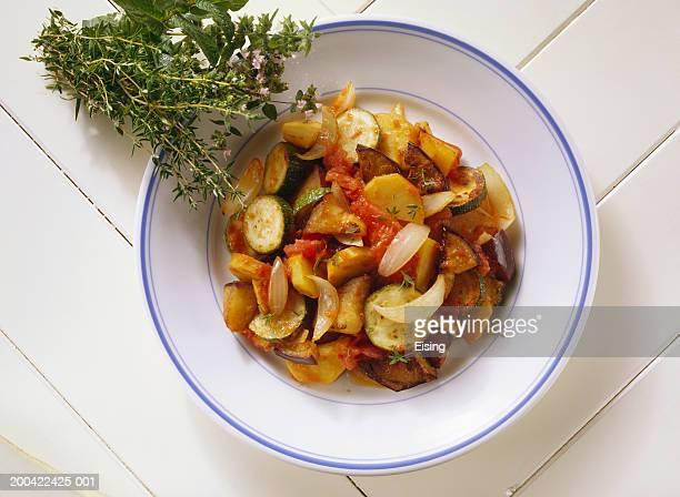 Potato Ratatouille with Thyme