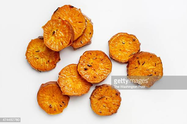 WASHINGTON DC Potato salads can be composed Toss ¼inch sweet potato rounds with olive oil and herb salt layer them tianstyle with sliced vegetables...
