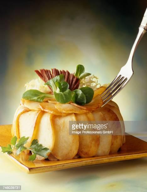 Potato savoury Charlotte