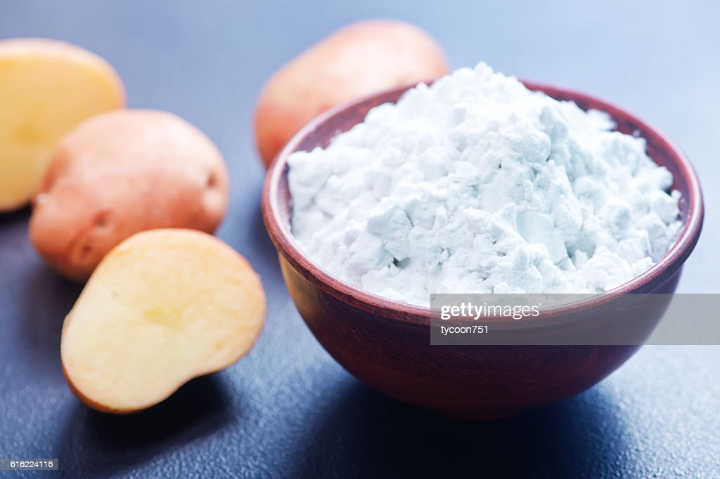 potato starch : Stock Photo