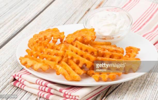 Potato waffle fries