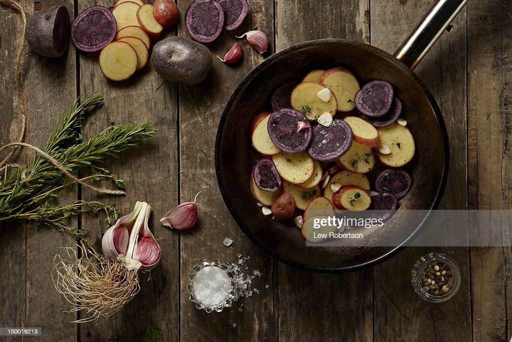 Potatoes : Stock Photo