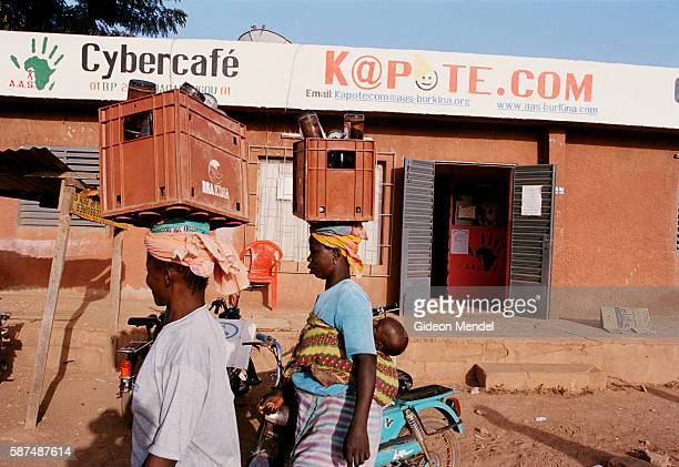 K@potecom' is a cybercafe started by a communitybased people in Ouagadougou The cybercafe which is also a venue for HIV/AIDS education is one of...