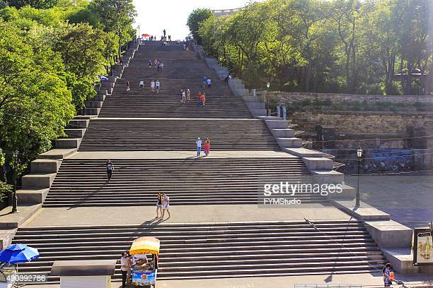 potemkin steps - odessa ukraine stock photos and pictures