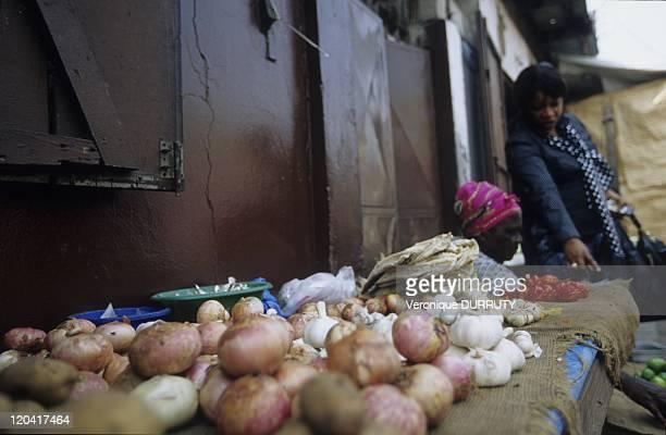 Poto Poto Market In Brazzaville Congo