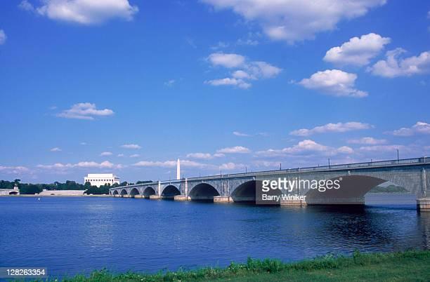 Potomac River & Arlington Memorial Bridge, DC