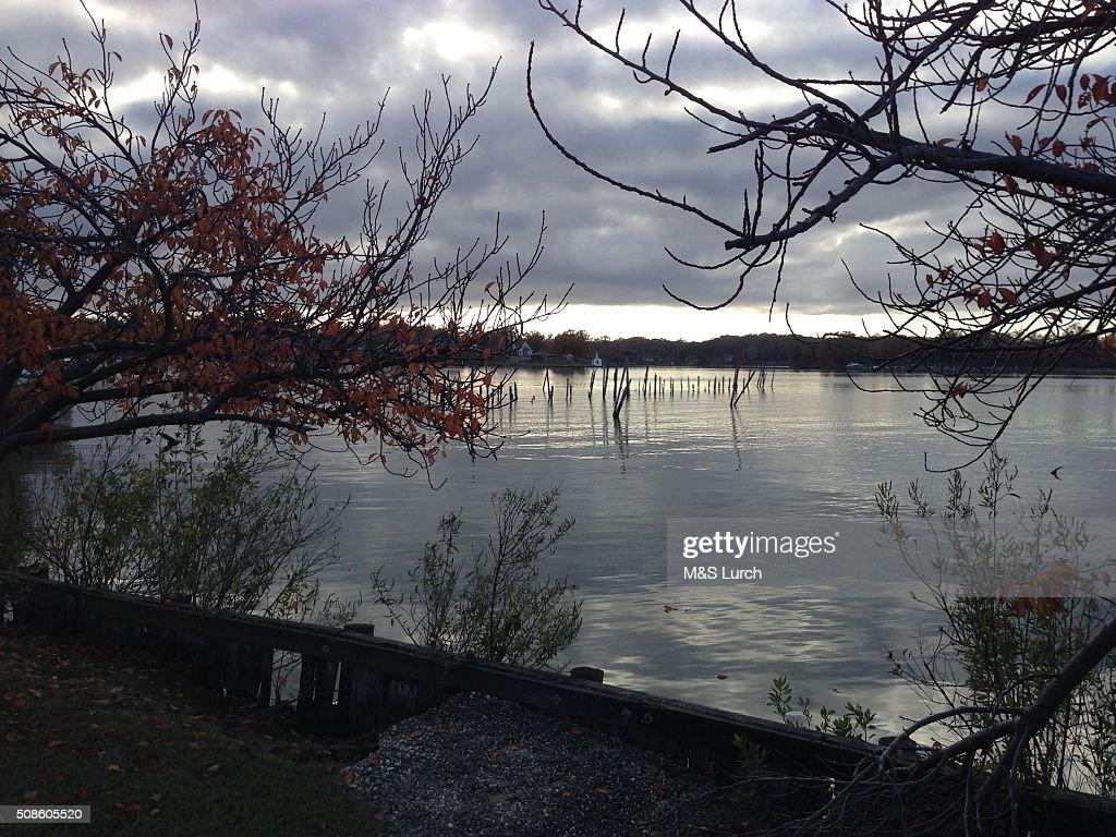 Potomac river : Foto de stock