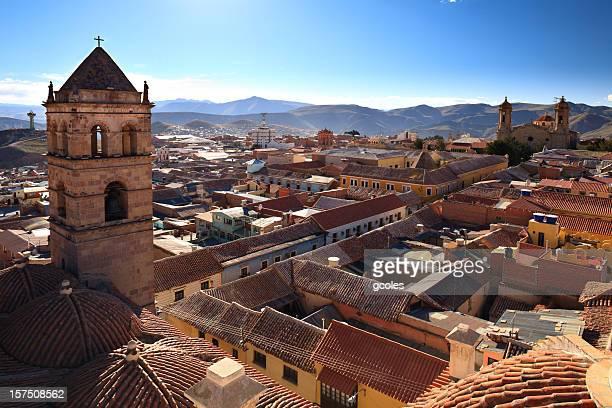 Potosí, Bolívia Telhados