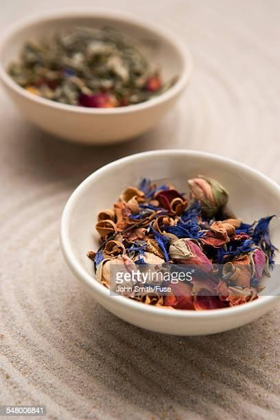 Potpourri in bowls